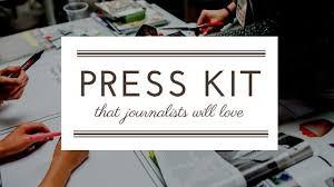 press kit Media Magic